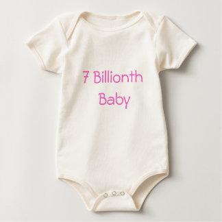 7 billionth baby romper