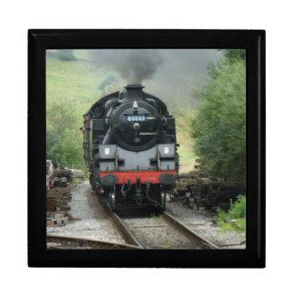 """7"""" caja de regalo del tren del vapor"""