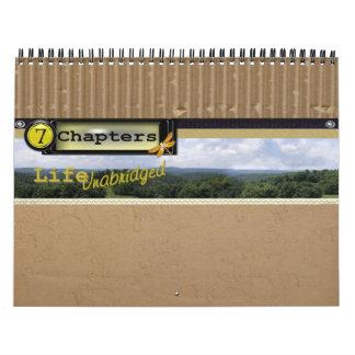 7 capítulos Calendar-2010 Calendario De Pared