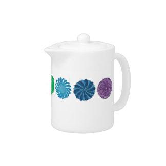 7 Chakras #1 Balancing Artwork Teapot