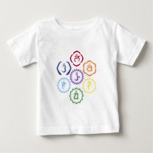 7 Chakras in a Circle Infant T-shirt