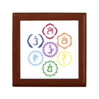 7 Chakras in Circle Gift Box