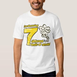 7 clases de camiseta del humo playeras