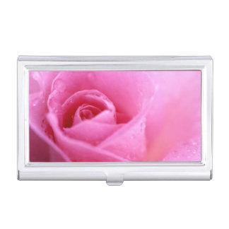 #7 color de rosa cajas de tarjetas de negocios