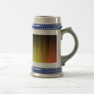 7 colours beer stein