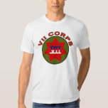 7 Corps shoulder patch T-shirt