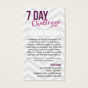 Jamberry business cards templates zazzle 7 day challenge sample card business cards reheart Choice Image