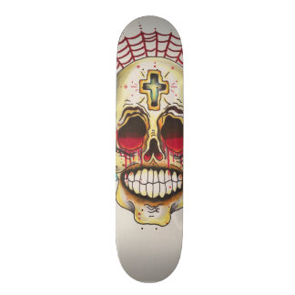 "7¾"" Day of the Dead skateboard deck"