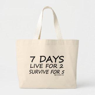 7 Days Jumbo Tote Bag