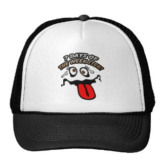 7 days of the week itch! hat