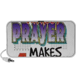 7 Days Without Prayer Portable Speakers