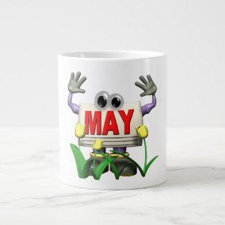 7 de mayo taza grande