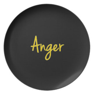 7 Deadly Sins Anger Custom Plate