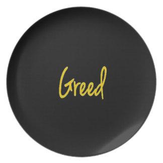 7 Deadly Sins Greed Custom Plate