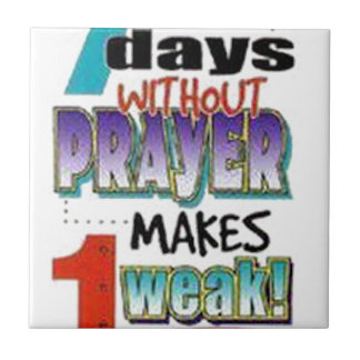 7 días sin rezo tejas