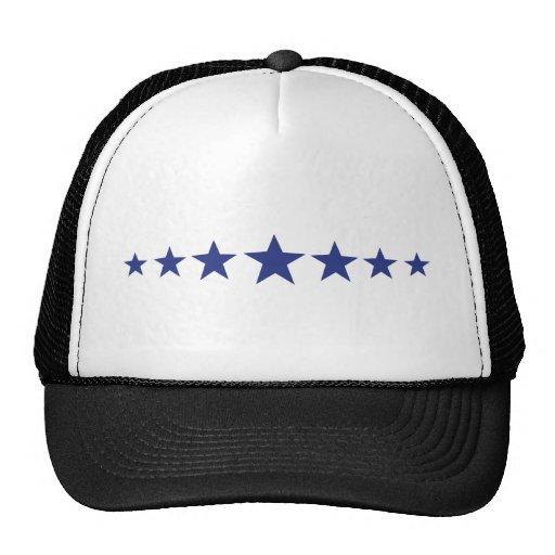 7 estrellas azules gorra