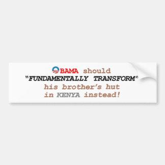7. Fundamentally speaking.... Bumper Stickers