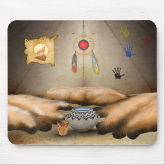 7 Generation Games - Tipi Mousepad