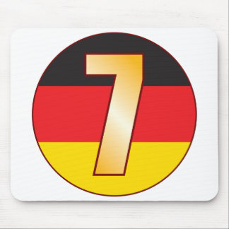 7 GERMANY Gold Mouse Pad