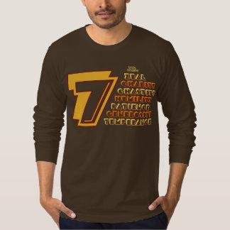 7 Heavenly Virtues Men AmericanApparel Long Sleeve T-Shirt
