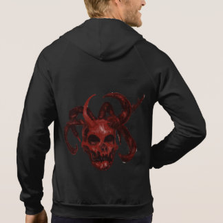 7-horned Demon Skull-broken Hoodie