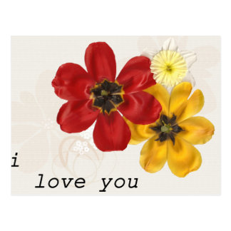 7 I Love You Postcard