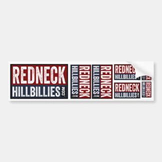 7 in 1  Redneck Hillbillies dot com bumper sticker Car Bumper Sticker