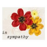 7 In Sympathy Postcard