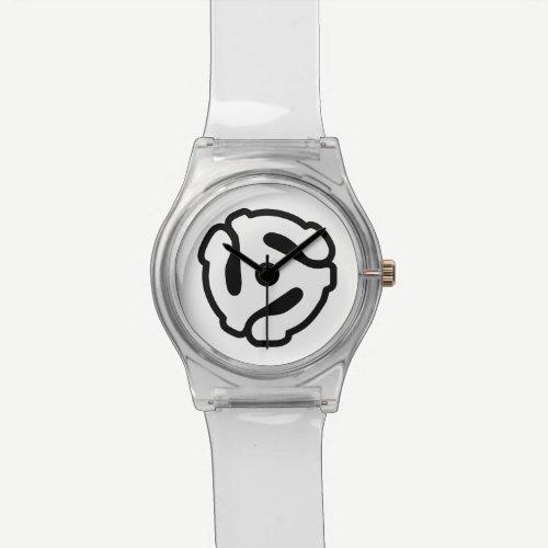 7 inch 45 rpm vinyl adapter insert spindle spider watch