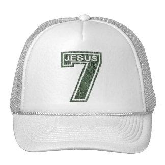 7 Jésus vert marbré Trucker Hat