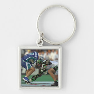 7 Jun 2001:  Paul Cantabene #5  Baltimore Silver-Colored Square Keychain