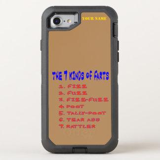 7 Kind of Farts OtterBox Defender iPhone 8/7 Case