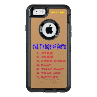 7 Kind of Farts OtterBox Defender iPhone Case
