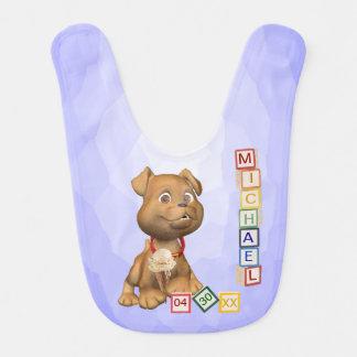 7 Letter Name Version - Customizable - Baby Bib