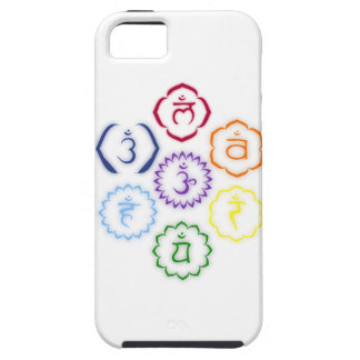 7 Main Chakras in a Circle iPhone SE/5/5s Case