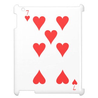 7 of Hearts Case For The iPad