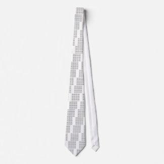 7 palabras binarias sucias corbata personalizada