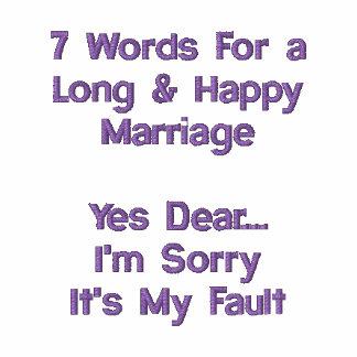 7 palabras para una boda larga y feliz