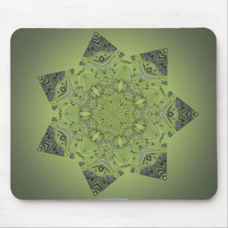 7 Pointed Star Mousepad