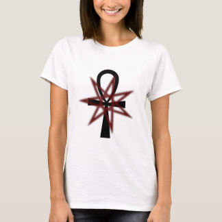 7 Pointed Star with Ankh T-Shirt