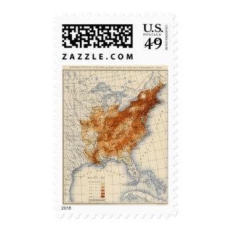 7 Population 1840 Stamp