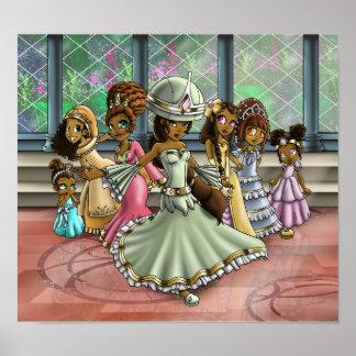 """""""7 princesas """" póster"""