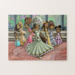 """&quot;7 Princesses&quot; 11x14 Puzzle with Gift Box<br><div class=""""desc"""">Seven sisters pose in the ballroom of their palace.</div>"""