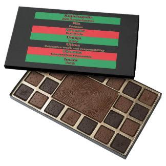 7 Principles of Kwanzaa 45 Piece Box Of Chocolates