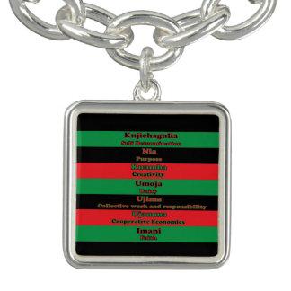 7 Principles of Kwanzaa Bracelets