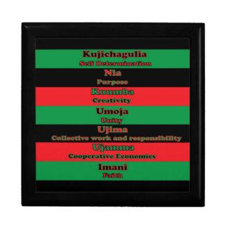 7 Principles of Kwanzaa giftbox Gift Boxes