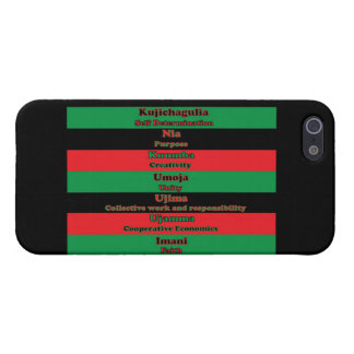 7 Principles of Kwanzaa iPhone 5 Cases