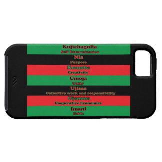 7 Principles of Kwanzaa iPhone SE/5/5s Case