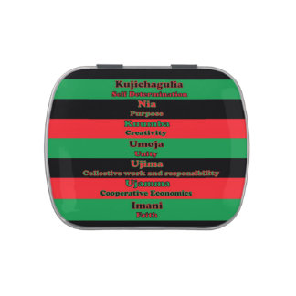 7 Principles of Kwanzaa Jelly Belly Tin