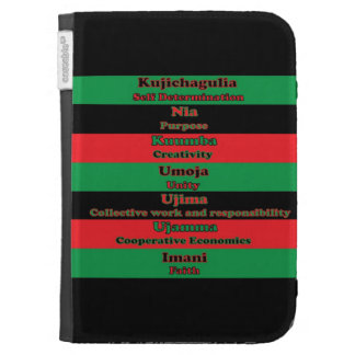7 Principles of Kwanzaa Kindle 3G Covers